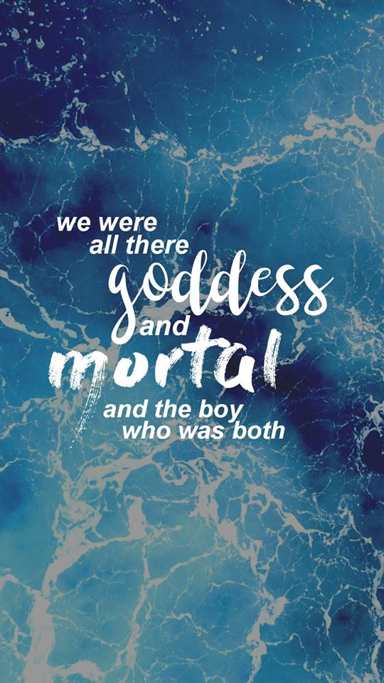 Image may contain: water, text that says 'we were all goddess there and orta and the boy who was both'